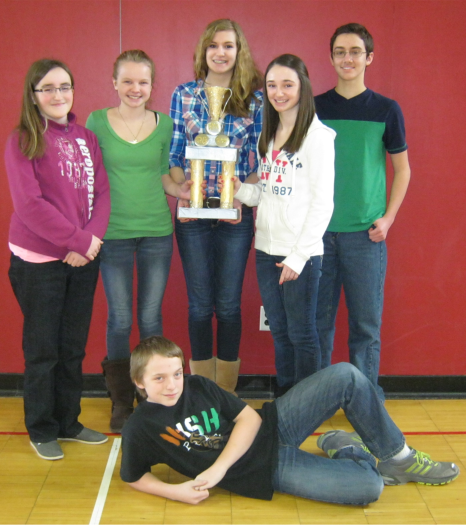 8th Grade Quiz Bowl Champions