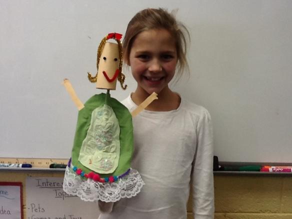 Girl + Puppet
