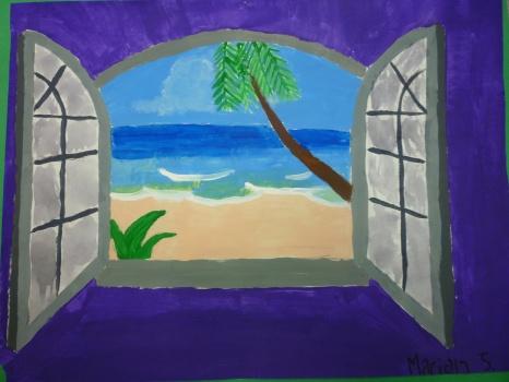 Student Artists: MARIAH J, Grade 8