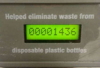 How Many Bottles Saved Counter