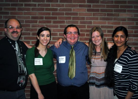 Winners with High School Math Teacher John Tague