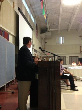 Keynote Speaker - Principal Tom Walsh