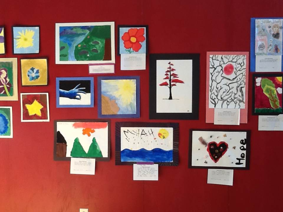 Gems Showcases The Work Of Young Student Artists In Annual Art Night