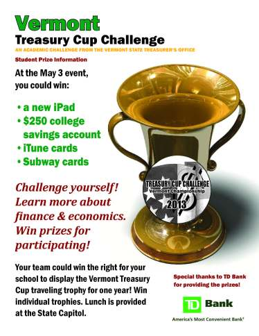 Prizes Treasury Cup 2013