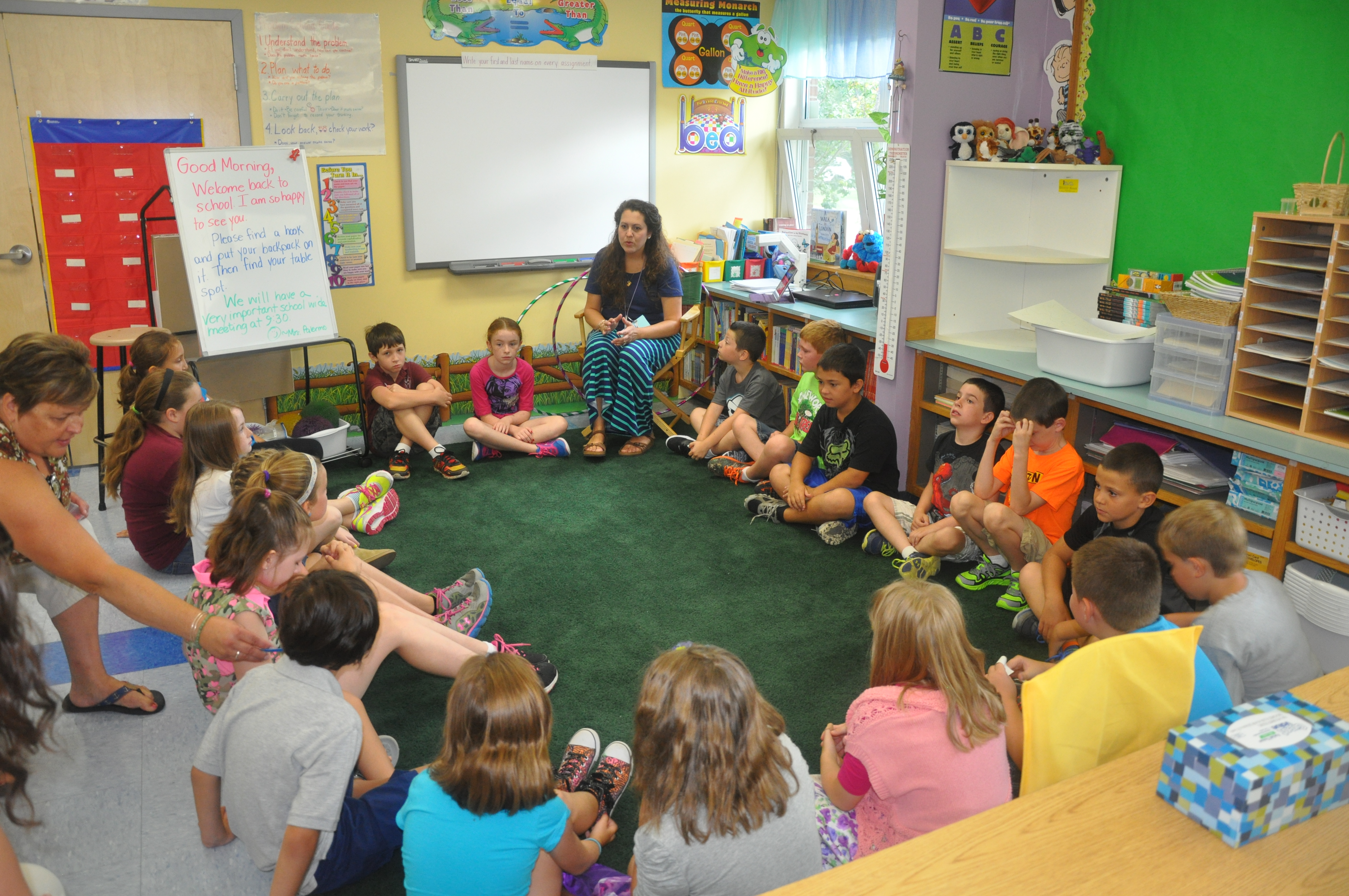 Elementary Classroom Students : Leadership is elementary at fletcher the fwsu story
