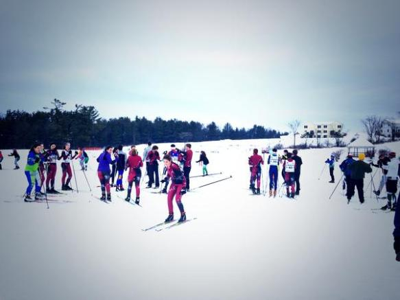 "Tweet by @GLWit - ""Home Nordic race today!!! Happy Holidays!! #bfairfax #fwsu"""