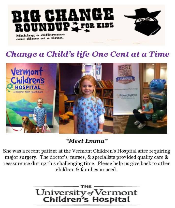 Change round up poster