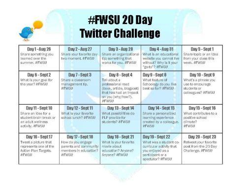 20 Day Challenge