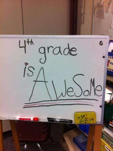 awesome4thgrade