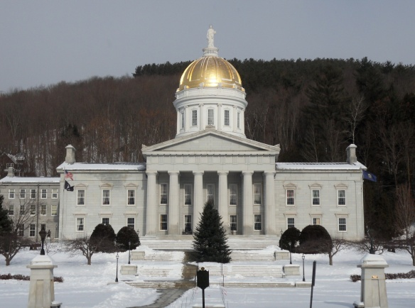 The Vermont State House. Outside of New England, we call it a capitol building.