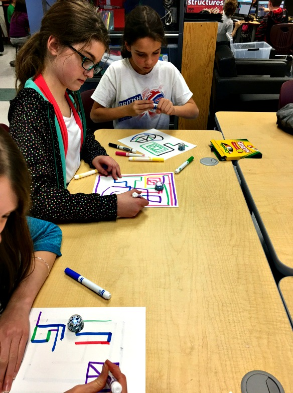 students engage in hour of code