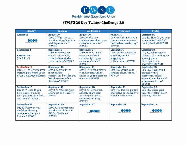 FWSU Twitter Challenge