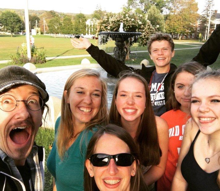 Members of the YATST team at BFA Fairfax.