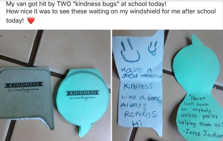 Purposeful kindness.