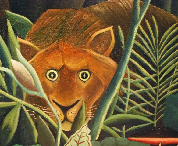 Artwork by Henri Rousseau
