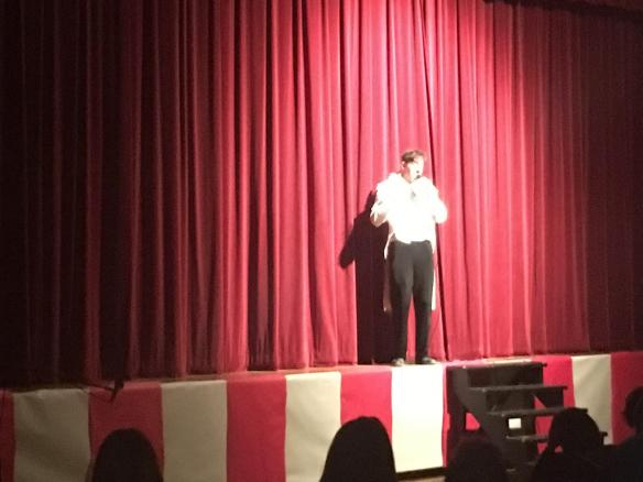 Students share their talents with peers at BFA Coffee House!