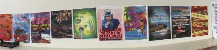 Coffee House Mural at BFA Fairfax