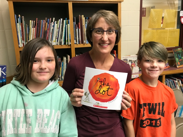 Students celebrate their uniqueness with International Dot Day!