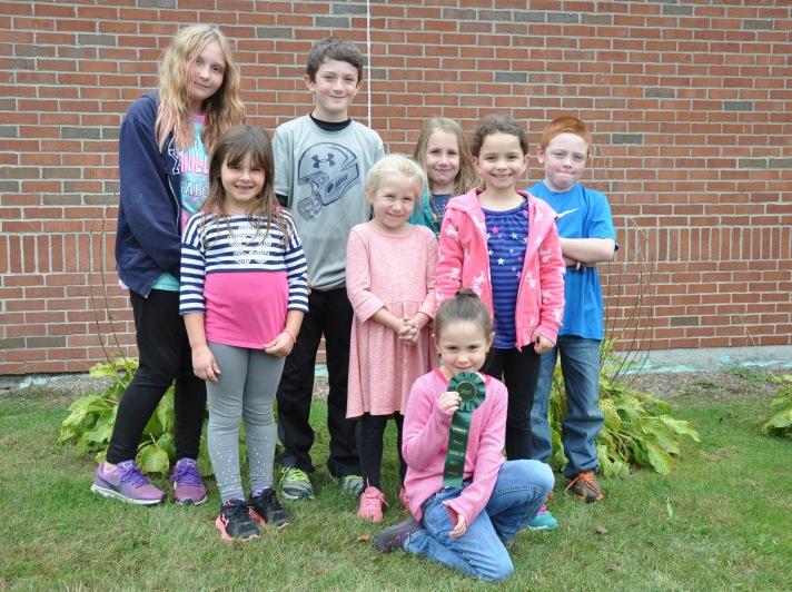 Fletcher Falcons are proud of their VT-PBIS School of Merit ribbon!