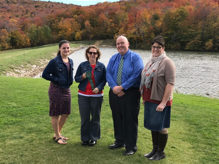Fletcher PBIS Leadership Team (Left to Right): Sarah Tucker, Sandi Simmons, Principal Chris Dodge, Rebecca Cardone.