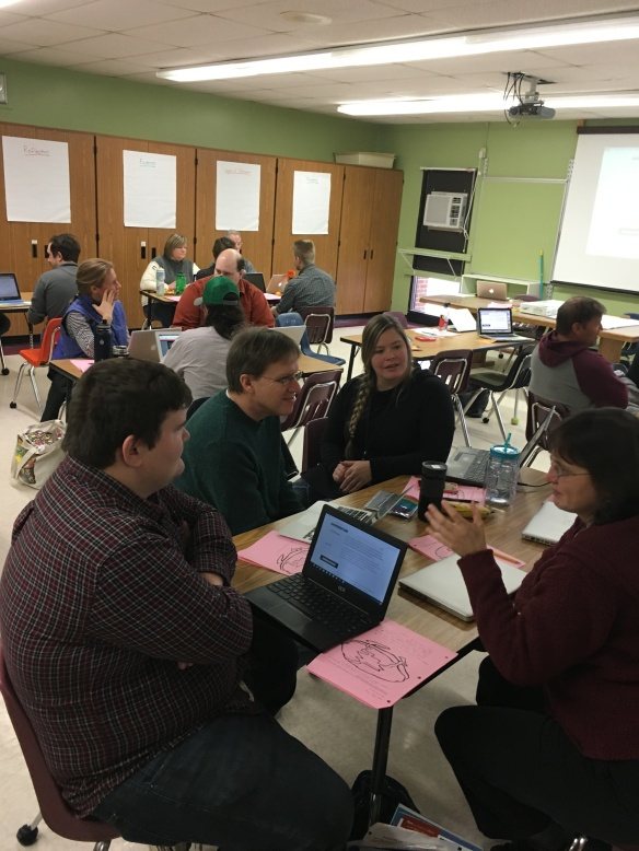 FWSU educators collaborating in Educator Institutes