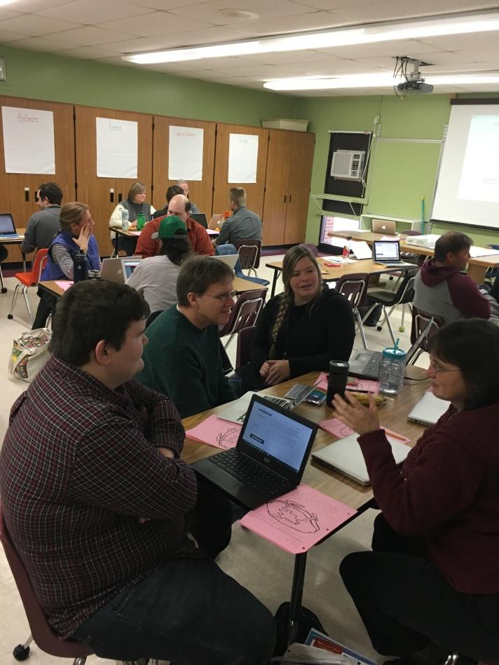 FWSU educators collaborating in Educator Institutes