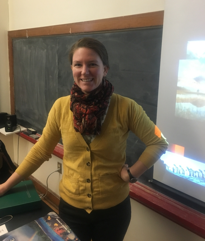 Laura Heil, Long Term Substitute Science Teacher