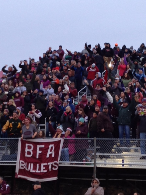 BFA Fairfax has enjoyed a long tradition of community and parent support for its athletic programs.
