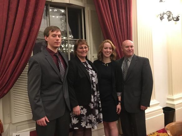 Shannon Mahoney and family.