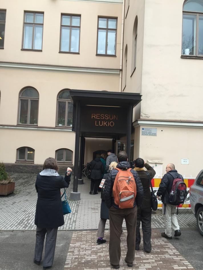 Ressu High School in Helsinki