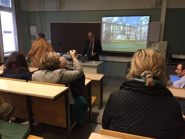 Ressu High School, Helsinki