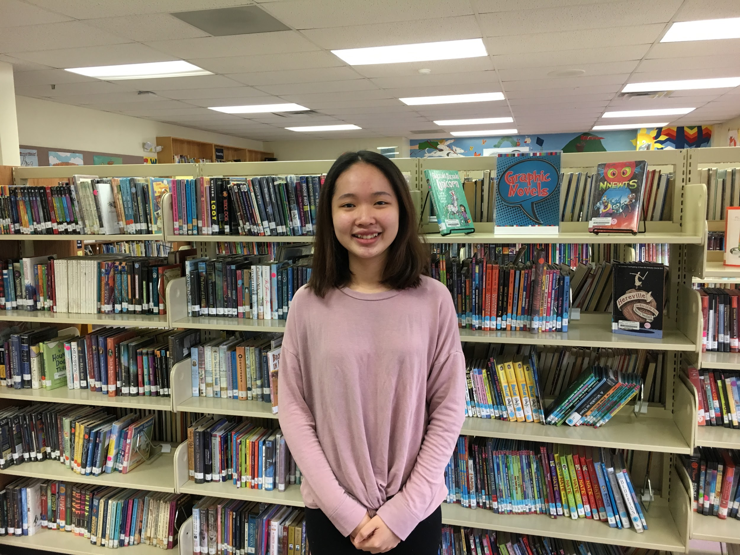 Minh Thu is a senior at BFA Fairfax this year through the Immigration I-20 program.
