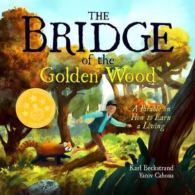 """The Bridge of the Golden Wood"" by Karl Beckstrand and Yaniv Cahoua"
