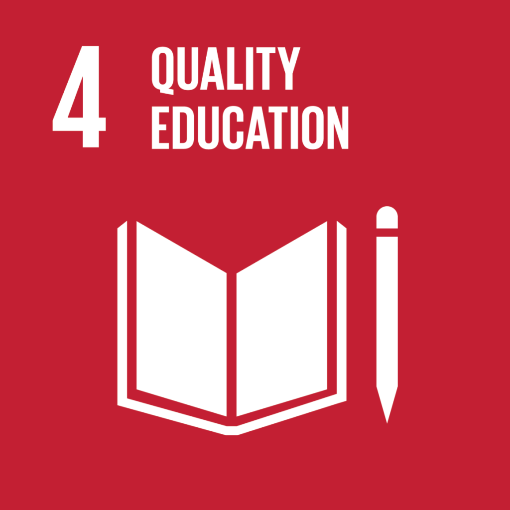 GOAL 4: Ensure inclusive and equitable quality education and promote lifelong learning opportunities for all.