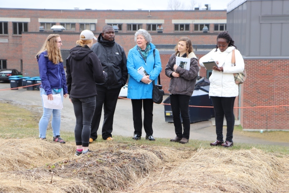 Partners from Kenya, with Dr. Mary Lynn Riggs of VCILP, tour the Fairfax School Farm