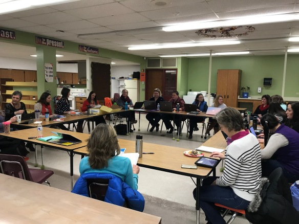 Valuable feedback was gathered at the last FWSU Special Education Department meeting.