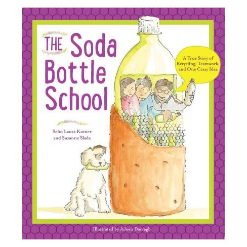 """This title was a favorite of the students: """"The Soda Bottle School"""" by Seno Laura Kutner and Suzanne Slade"""