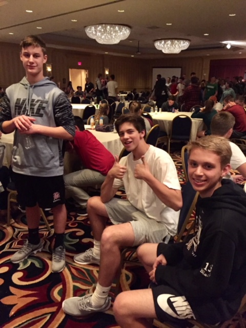 Student Athletes participated in a statewide Leadership Conference
