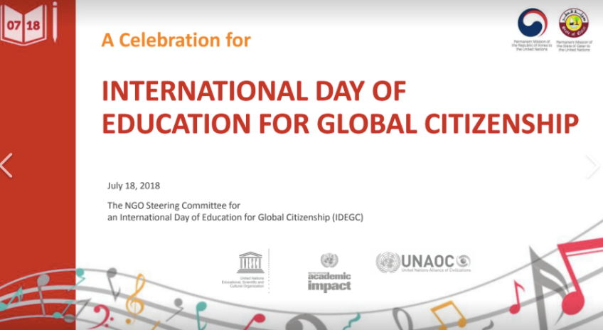 International Day of Education for Global Citizenship
