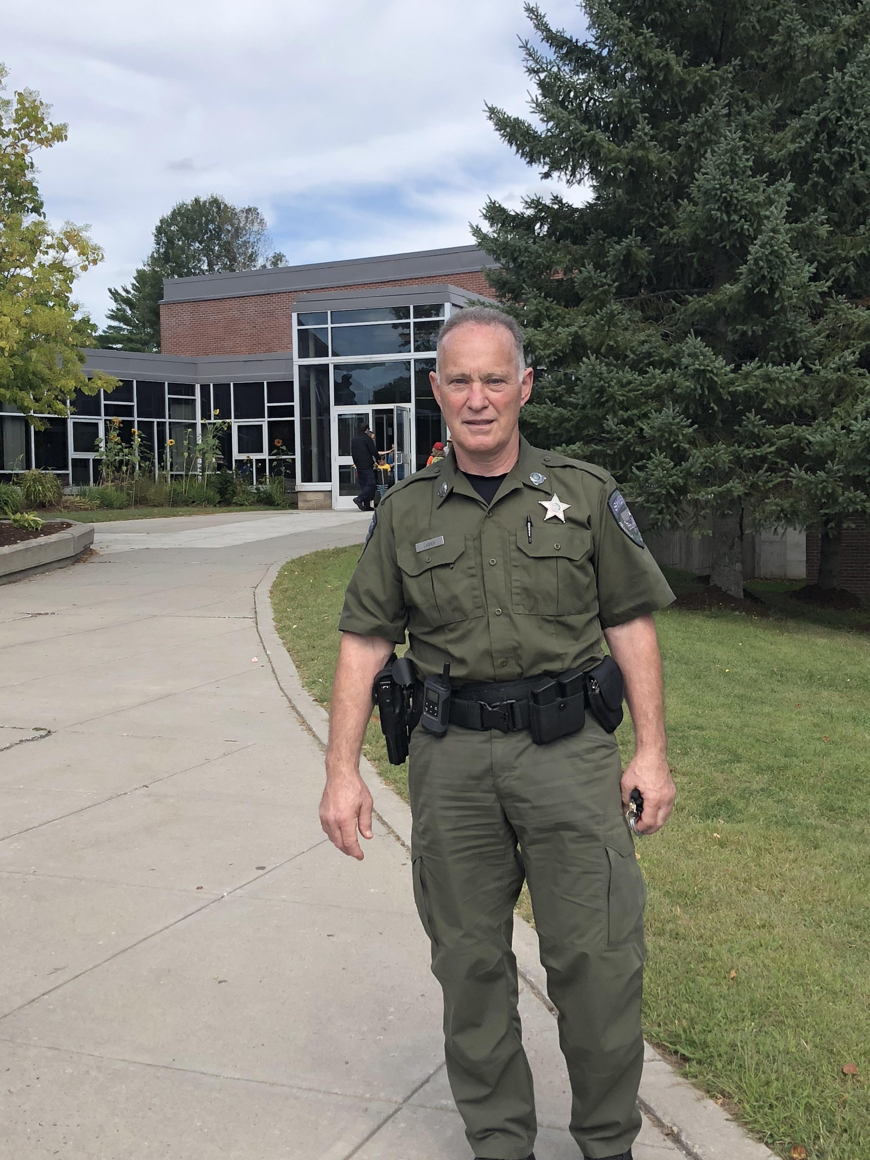 BFA Fairfax School Resource Officer Deputy Andre LaBier