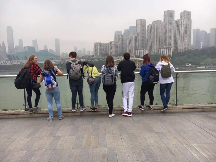 BFA Fairfax students in China