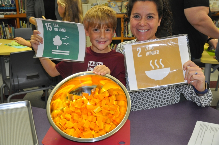 Harvesting squash for the SDGs!