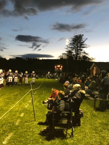 Fairfax Football under the lights