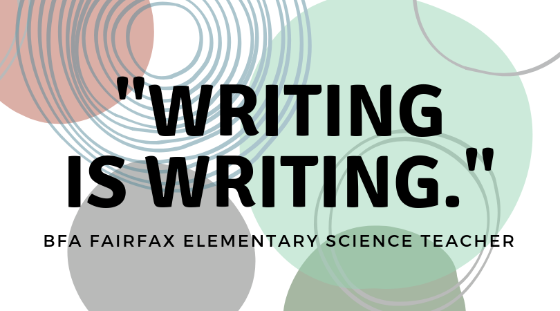 Writing is Writing