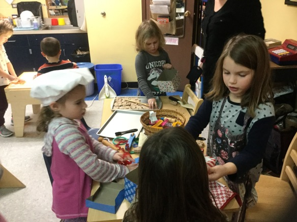Students are learning to bake at GEMS Preschool